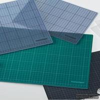 Коврик монтажный от COPIC - Cutting mat, черно-зеленый, двусторонний, 60x45 см
