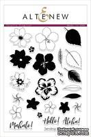 Набор штампов от Altenew - Totally Tropical