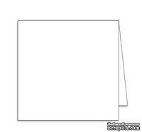 Заготовка для открытки Square, 15х15, цвет белый, 1 шт.