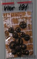 Пластиковые украшения, набор болтиков под металл от Е.В.A