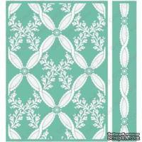 Папка для тиснения от Cuttlebug - Anna Griffin Cl Rose-Cuttlebug 5X7 Set - ScrapUA.com