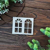 Чипборд Окно 1 3д от WOODchic, 7 см