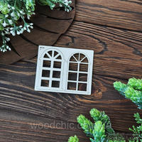 Чипборд Окно 2 3д от WOODchic, 7 см