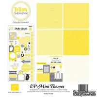 Мини-набор бумаги от Echo Park - Yellow Submarine, Mini Theme, 6+1 листов, 30х30 см, SW3205