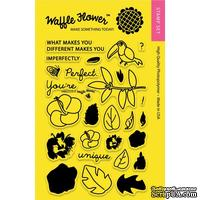 Силиконовый штамп от Waffle Flower - Hibiscus, 10,1x15,2 см.