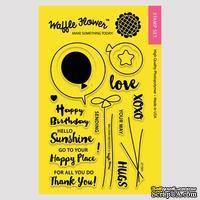 Силиконовый штамп от Waffle Flower - Balloon Messages, 10,1x15,2 см