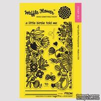 Силиконовый штамп от Waffle Flower - Enveloper Little Birdie, 10,1x15,2 см