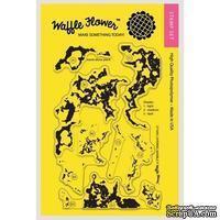 Силиконовый штамп от Waffle Flower - Layering Marble - Мраморный фон, 10,1x15,2 см