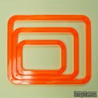 Набор закругленных прямоугольников Tonic studios - Shape-Mate Rectangles Pack (система резки Shape-Mate)
