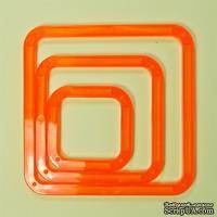 Набор закругленных квадратов Tonic studios - Shape-Mate Squares Pack (система резки Shape-Mate)