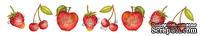 Двусторонний лист с картинками от Galeria Papieru - Herbatka dla Dwojga-owoce, 5х15см,1 шт. -GP-009-02