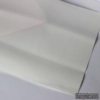 Лист фоамирана (пористой резины), А4 -20х30 (17х25) см, цвет: белый