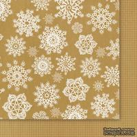 Двусторонний лист бумаги от Galeria Papieru - Przesyłka Ekspresowa 02, 30,5x30,5см