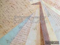"Набор бумаги Prima - Ledger 12""x12"" Paper Pad, 30x30см, 16 листов"