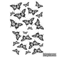 Оверлей - Фабрика Декора - Бабочки, размер А4