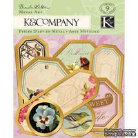 """Украшения от K and Company - """"Металлизированные ярлычки"""""""