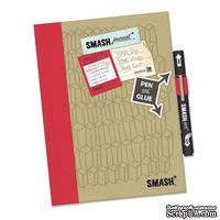 Книга для записей от K&Company - Doodle Red Smash Folio, размер: 19,7х26,1 см.