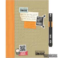 Книга для записей от K&Company - Simple Orange SMASH Folio, размер: 19,7х26,1 см.