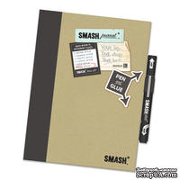 Книга для записей от K&Company - Mod Black Smash Folio, размер: 19,7х26,1 см