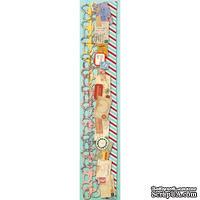 """Набор самоклеющих бумажных ленточек от K and Company - """"Вокруг света"""", 30 см"""