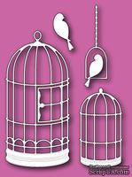 Ножи от Memory Box - DIES - Gilded  - Клетки и птички
