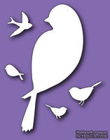 Нож для вырубки от Memory Box -  DIES - Birds of a Feather