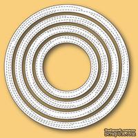 Ножи для вырубки от Memory Box - Wrapped Stitched Circle Frames