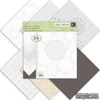 Набор бумаги от K&Company -  Elegance Specialty, 30 x 30 см, 24 листа - ScrapUA.com