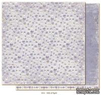 Двусторонний лист бумаги для скрапбукинга от Maja Design - Vintage Spring Basics - 10th of April, 30x30 см