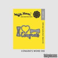 Ножи от Waffle Flower - Congrats Die