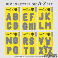 Ножи от Waffle Flower - Jumbo Letter A-Z Set, в наборе 26 тройных ножей