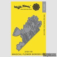 Ножи от Waffle Flower - Die - Magical Flower Border Die
