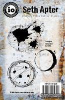 Резиновый штамп от Impression Obsession - Ink Spots