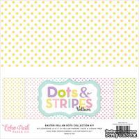Набор листов веллума в горошек и полоску от Echo Park Vellum Pack - Easter Dots & Stripes, 30х30 см, 30х30 см
