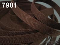 Киперная лента Adobe, ширина 10 мм, цвет коричневый, длина 90 см