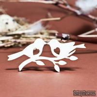 Чипборд от Вензелик - Птенцы с сердечками, 35х74мм