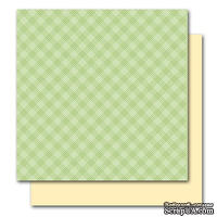 Двусторонний лист картона от American Crafts - Opal, Botanique, 30x30 см, 1 шт.