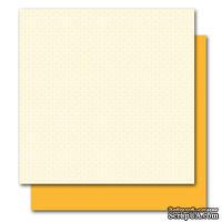 Двусторонний лист картона от American Crafts - Greta, Botanique, 30x30 см, 1 шт.