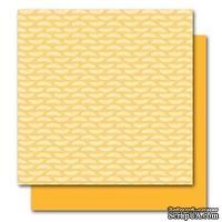 Двусторонний лист картона от American Crafts - Amelia, Botanique, 30x30 см, 1 шт.