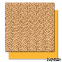 Двусторонний лист картона от American Crafts - Betty, Botanique, 30x30 см, 1 шт.