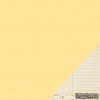 Двусторонний лист картона от American Crafts - 7th & Sunshine, 30x30 см, 1 шт.