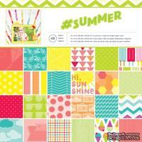 Набор бумаги от American Crafts -Summer, 30х30 см