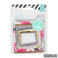 Набор рамочек от Heidi Swapp - Hello Beautiful Embellishments Photo Frames , 7 шт.