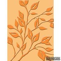 Папка для тиснения от Cuttlebug - Leafy Bran-Cuttlebug Emb Folder