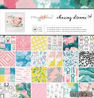Набор односторонней скрапбумаги для скрапбукинга от Crate Paper - Chasing Dreams, 48 листов