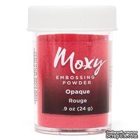 Пудра для ембоссинга Moxy Opaque Rouge от American Crafts,  17 г