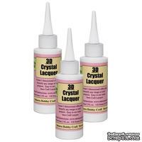 Обьемный 3D лак (акцент) - Crystal Lacquer, 50мл, 3D1842
