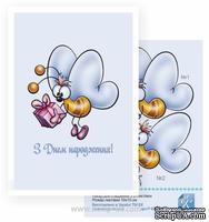 Набор №29 для создания 3D-открытки от Евгения Курдибановская ТМ, Пчелка - З Днем народження, 15х20см