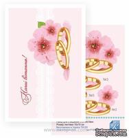 Набор №38 для создания 3D-открытки от Евгения Курдибановская ТМ, Весілля - Наші вітання, 15х20см