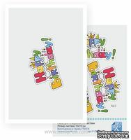 Набор №40 для создания 3D-открытки от Евгения Курдибановская ТМ, Happy Birthday, 15х20см